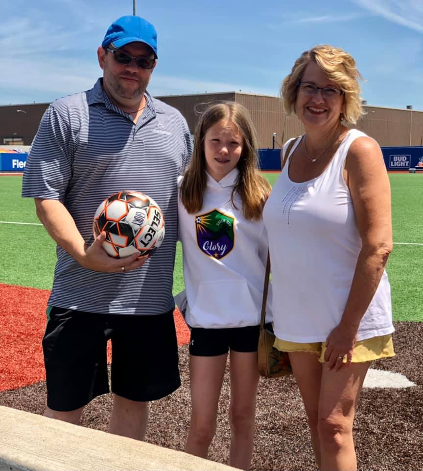 The firm was a proud game day sponsor for the Green Bay Glory WPSL. The National Anthem was performed by our law clerk, and Glory goalkeeper, Brianna Frontuto.